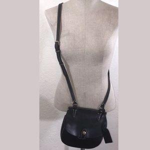 Dooney & Bourke Black Alto Leather Crossbody